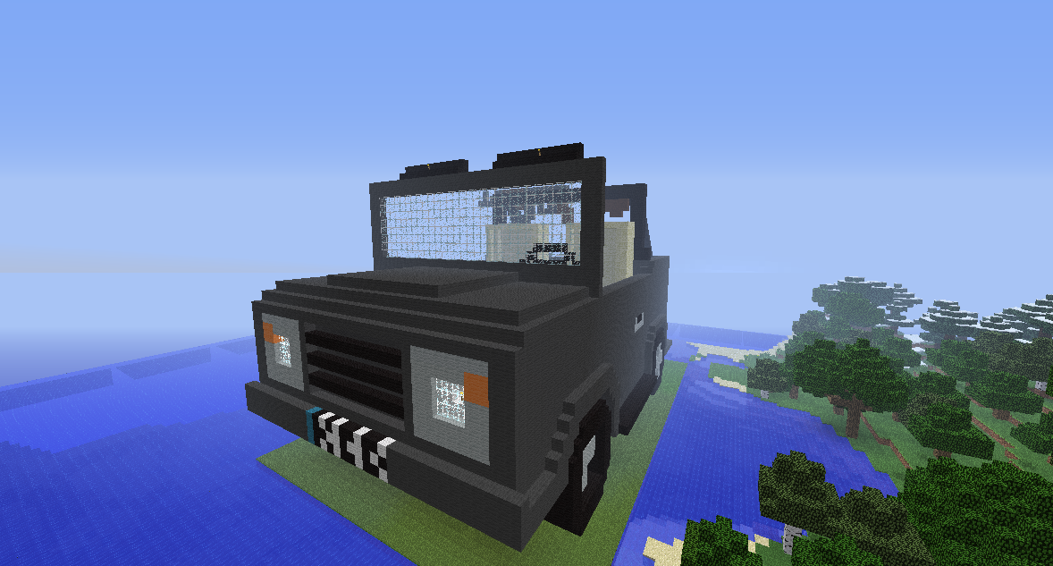 Mega build Minecraft Car
