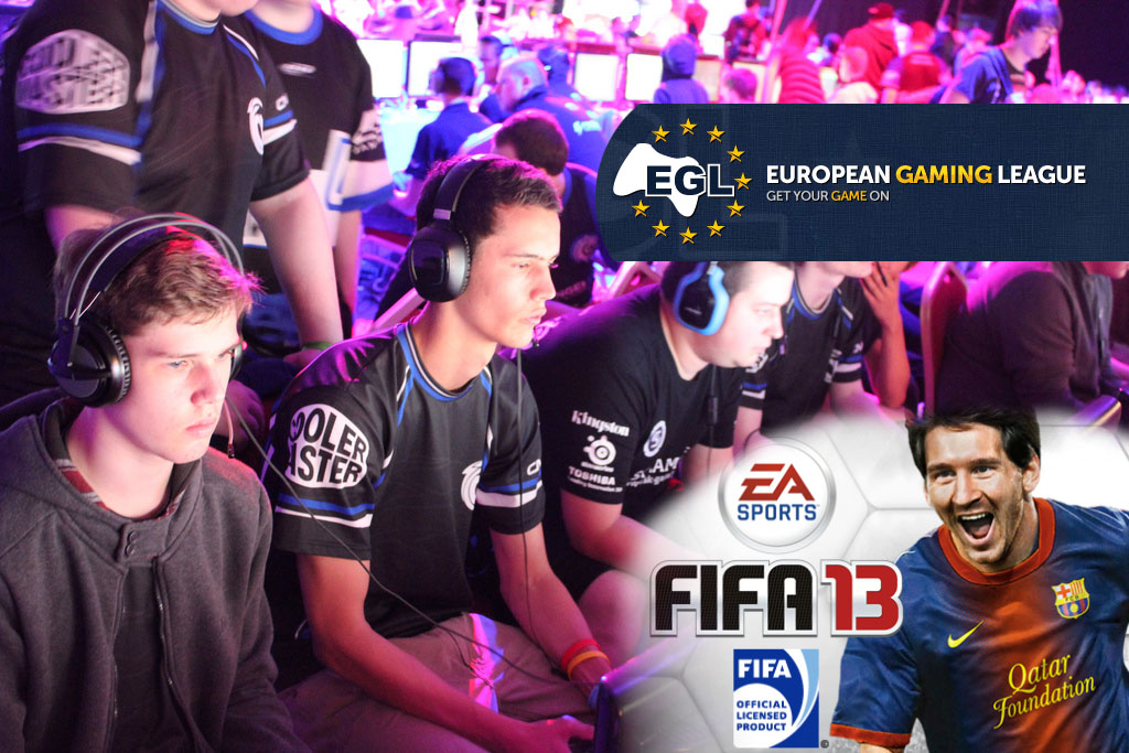 EGL 10 FIFA 13 Tournament 1v1 Preview