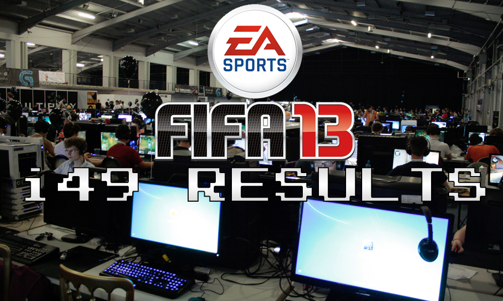 Insomnia 49 WCG FIFA 13 UK Championship Tournament Results – i49