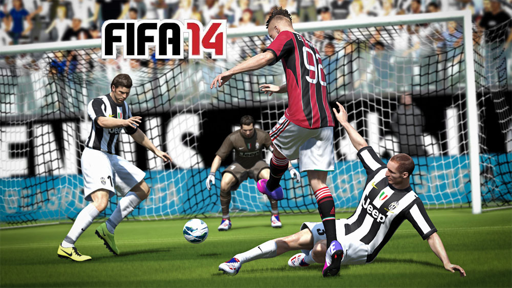 FIFA 14 on Vita is another reskin