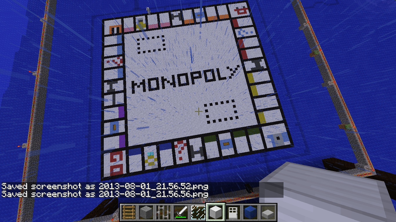 Minecraft Build – Monopoly