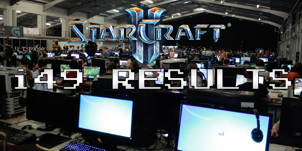 Insomnia 49 WCG Starcraft 2 Tournament Results – i49