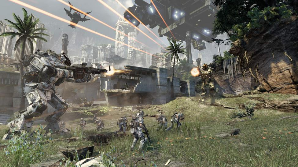Titanfall playable for the first time in the UK at Eurogamer Expo