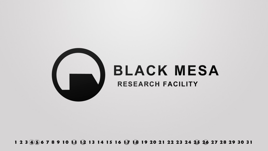 Jan 2014 Black Mesa Gaming Wallpaper
