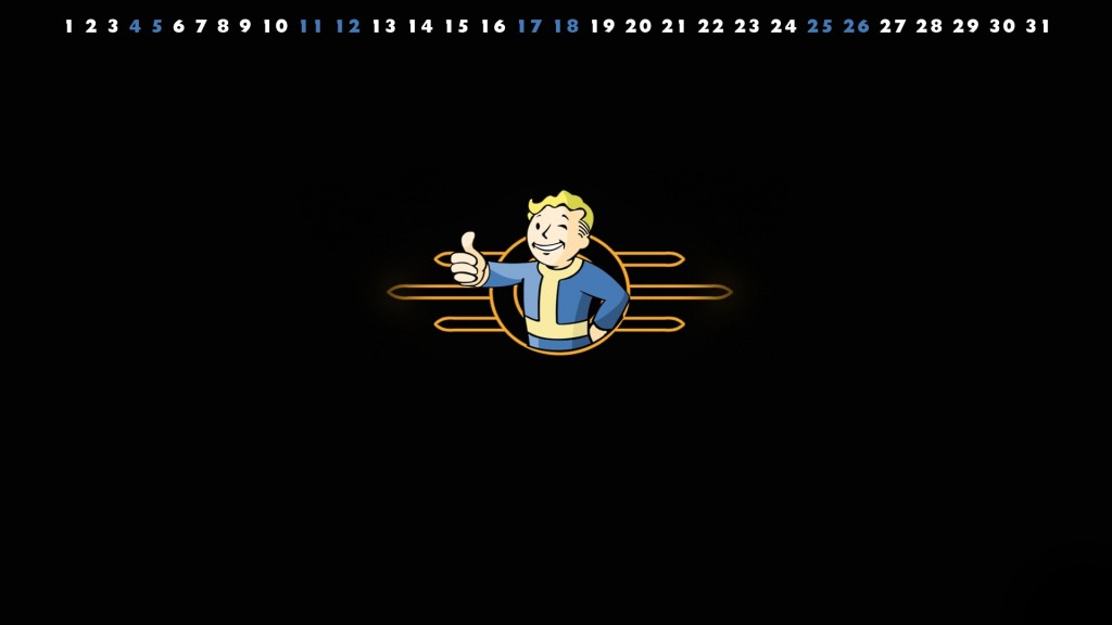 Jan 2014 Fallout Boy Gaming Wallpaper