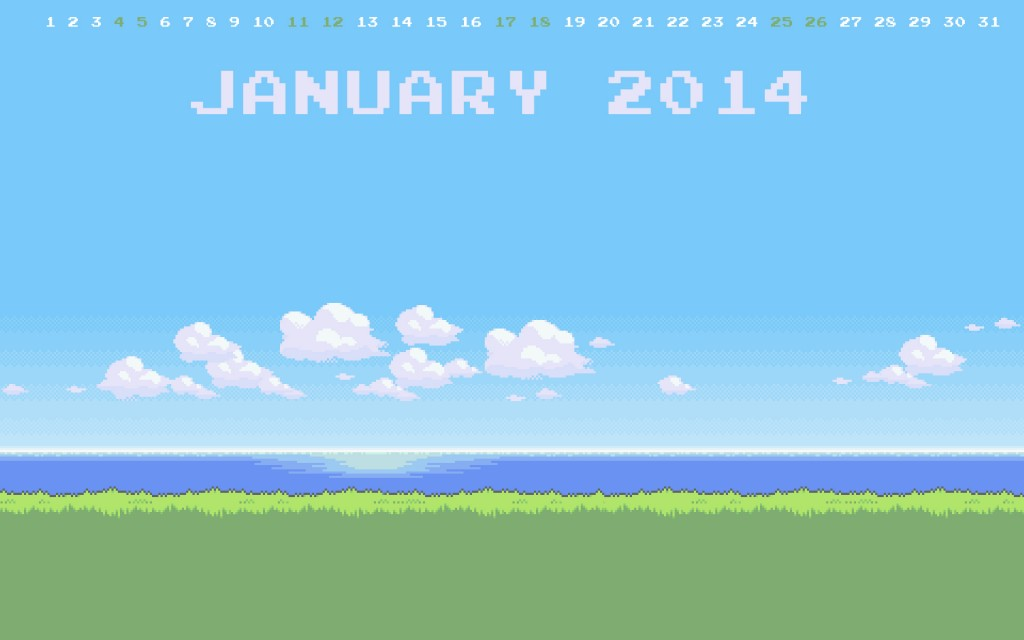 Jan 2014 Pokemon Landscape Gaming Wallpaper