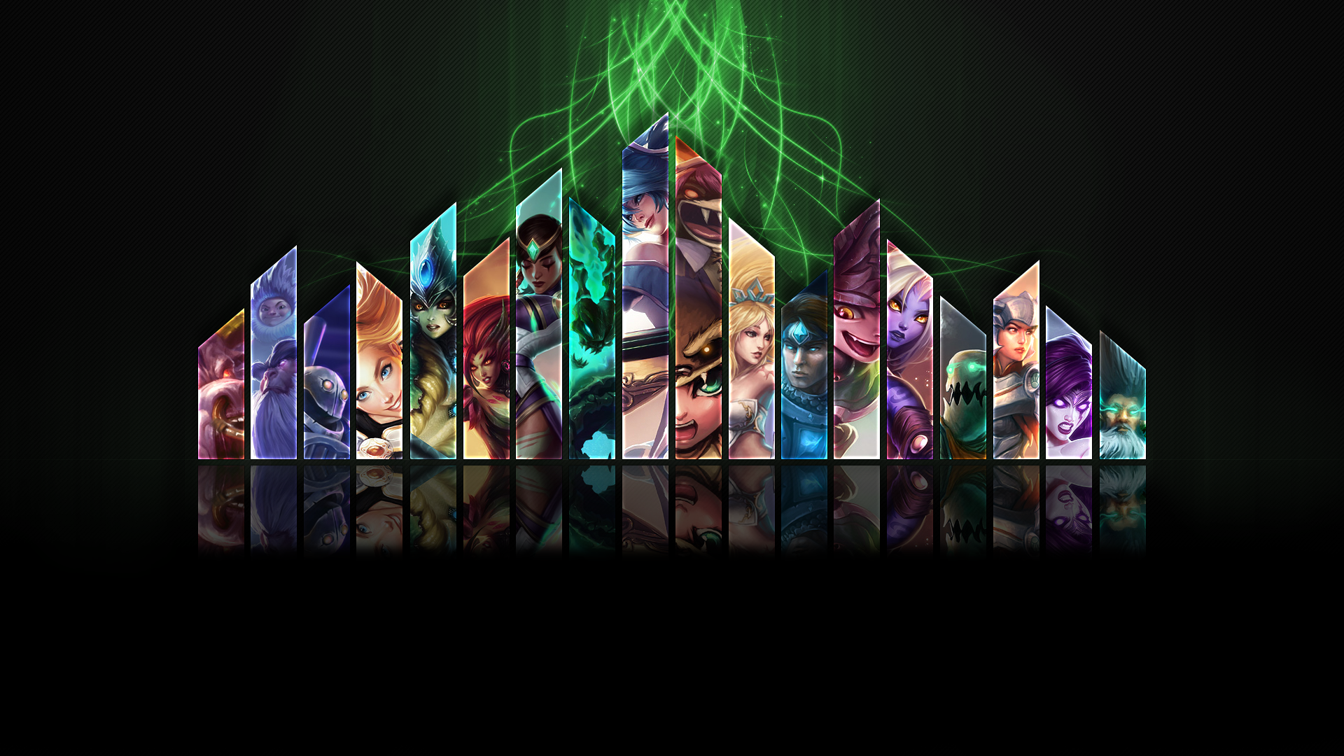 League of Legends Support Wallpaper - BC-GB