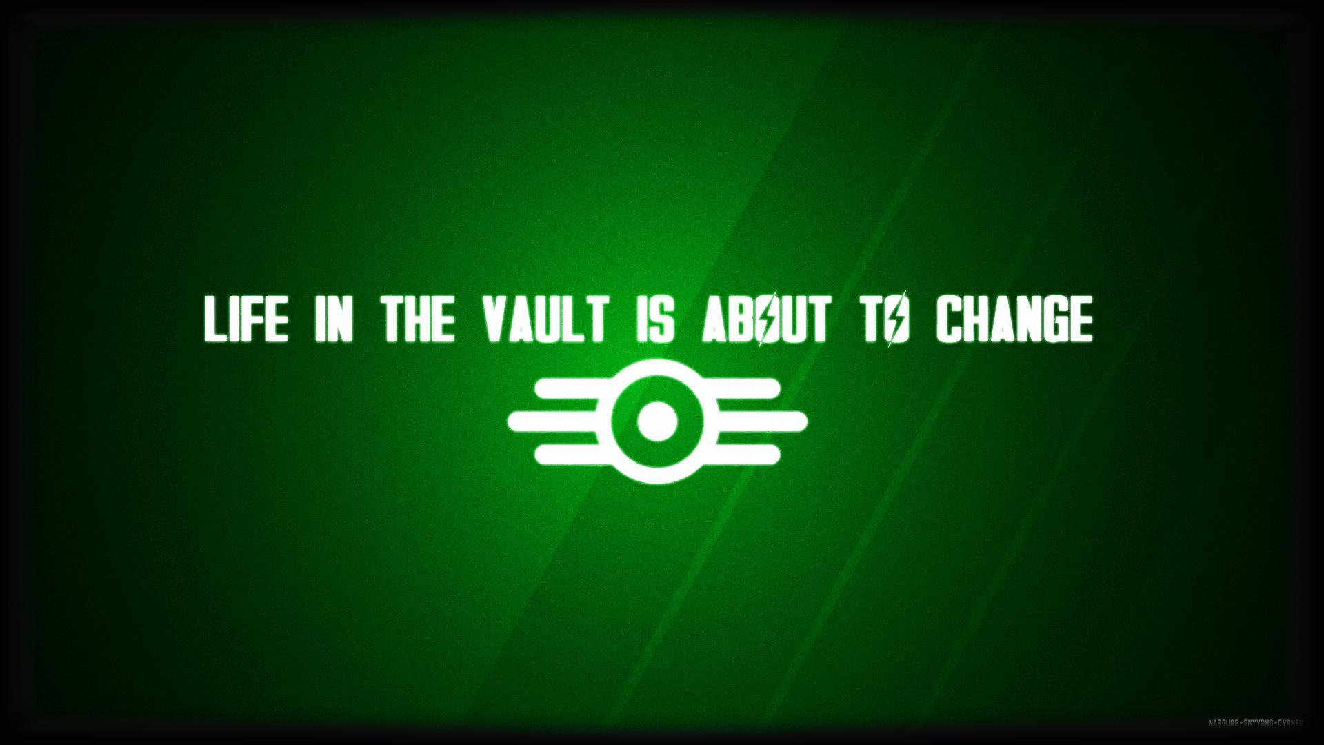 Video Game Wallpapers Fallout Vault