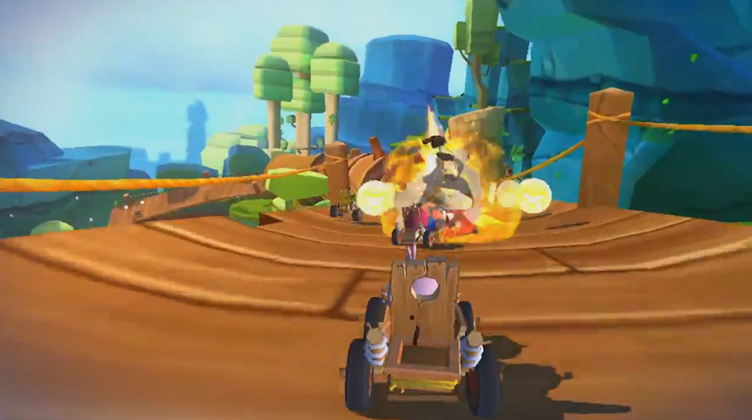 A New Free to Play Racer Game 'Angry Birds Go' Announced