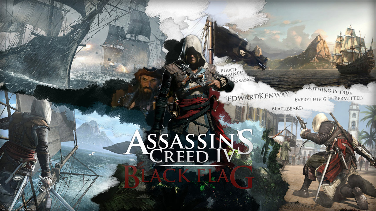 Five Minutes of Assassin's Creed IV: Black Flag's Gameplay Showing Combat and a Fort Battle