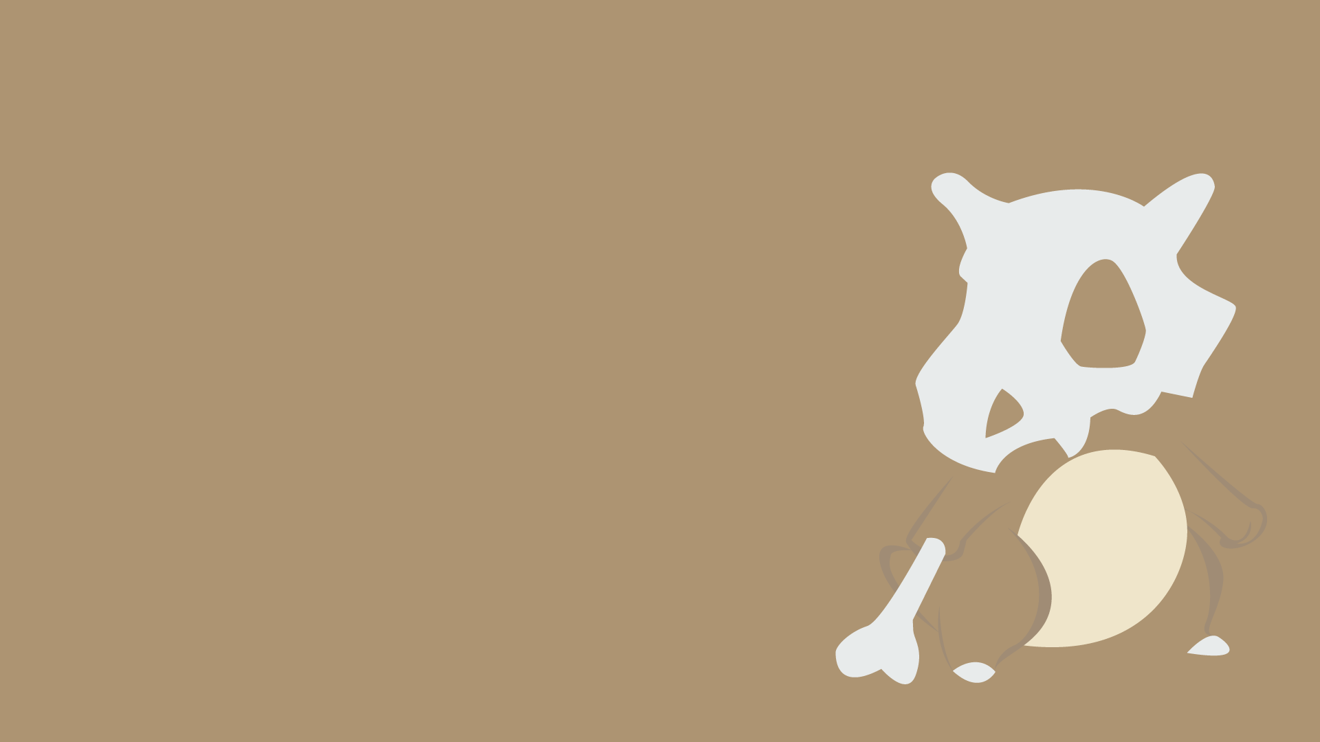 Games wallpaper gaming pokemon cubone - BC-GB