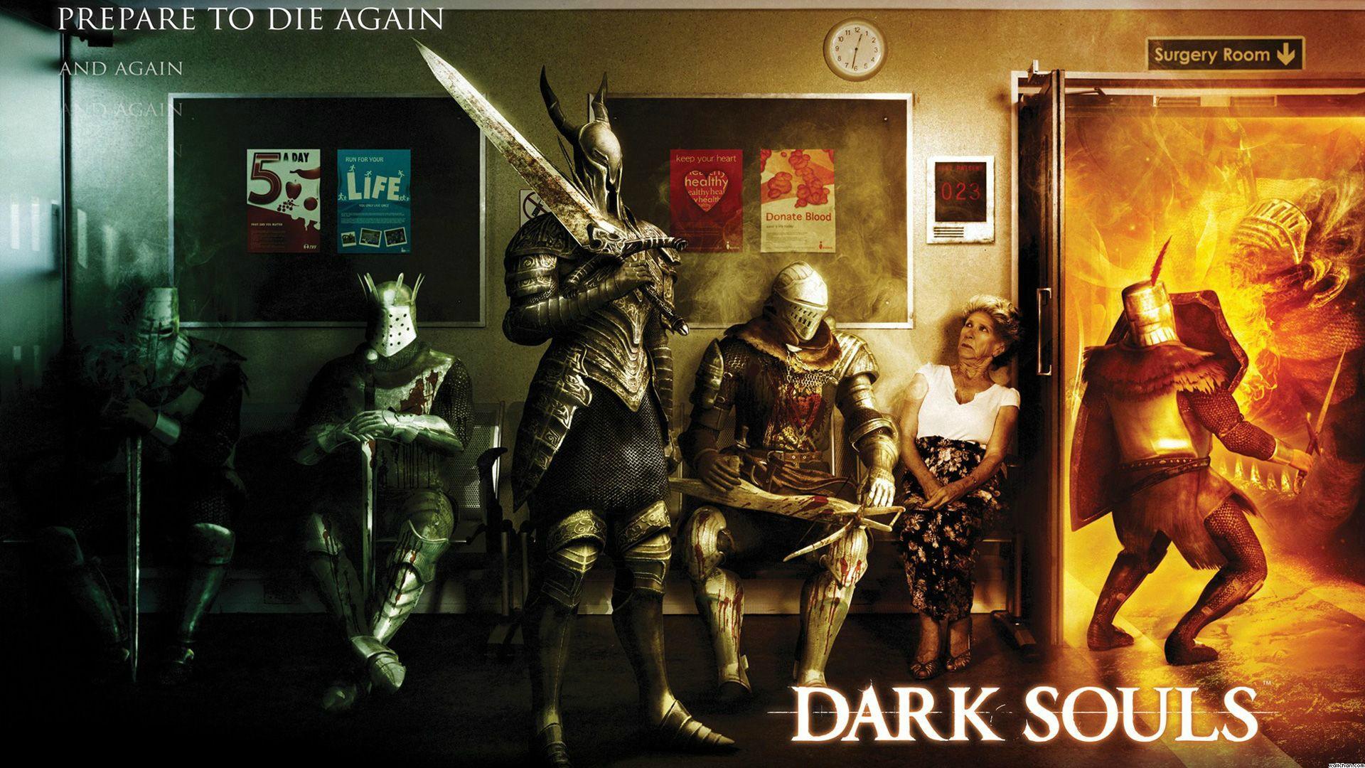 Gaming Wallpaper Games Dark Souls Bc Gb