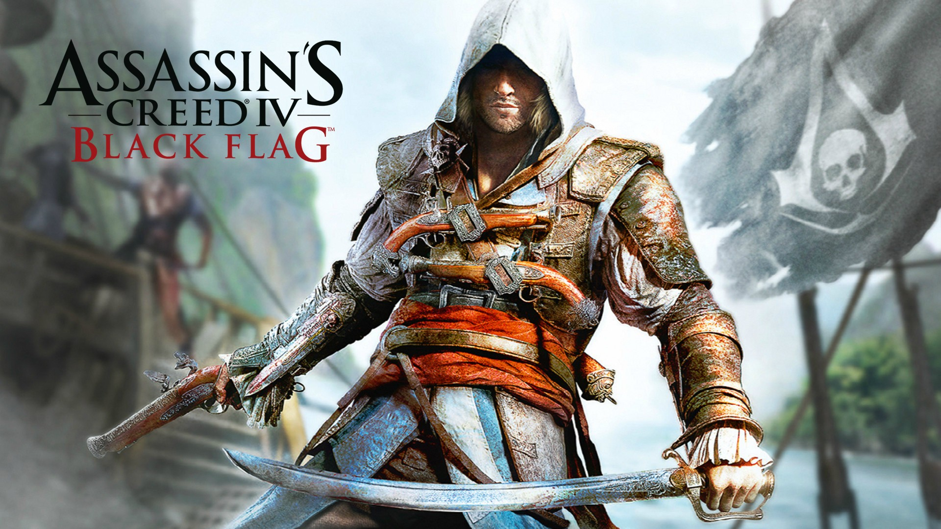 Gaming wallpaper games assassin's creed black flag