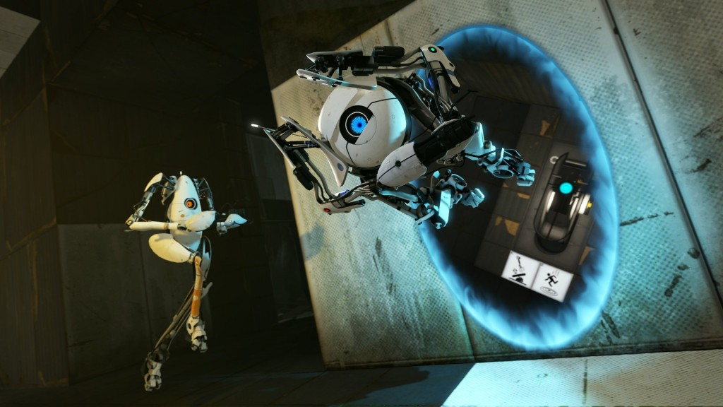 Games wallpaper gaming portal 2