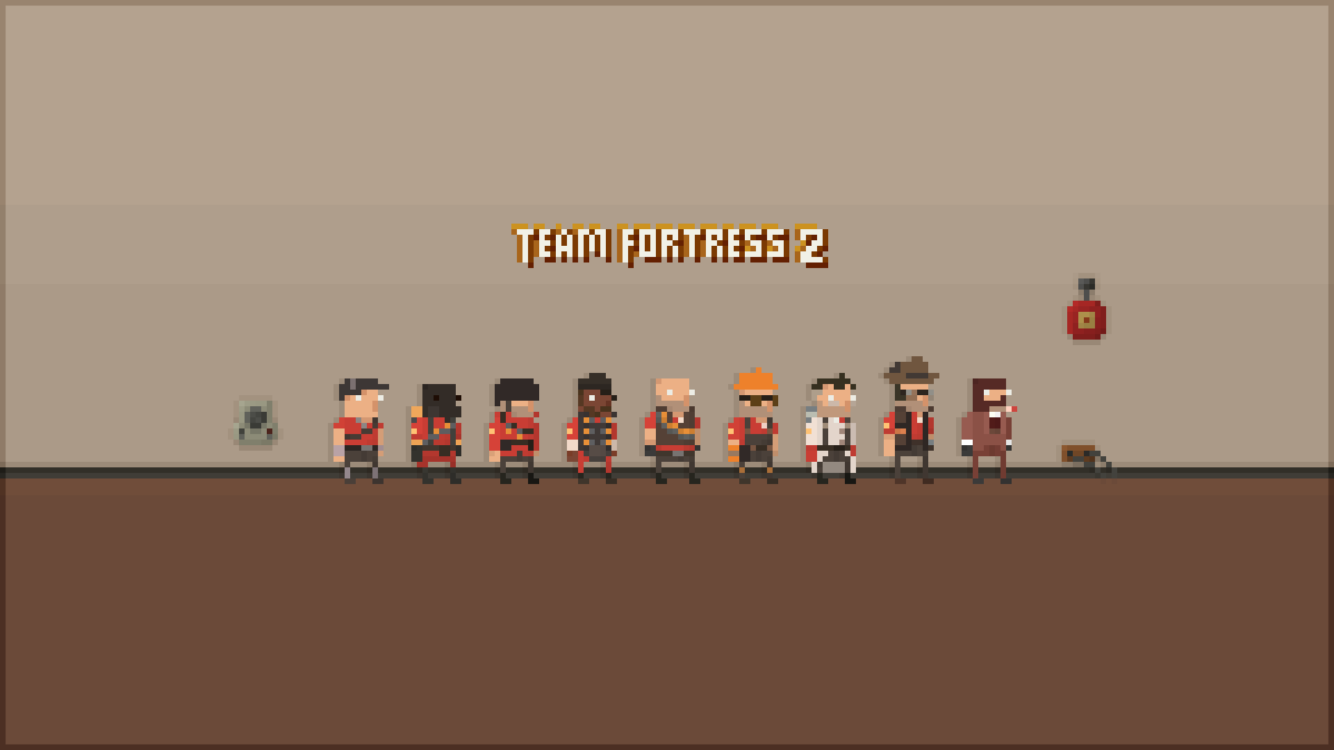 Games wallpaper gaming pixelated team fortress 2