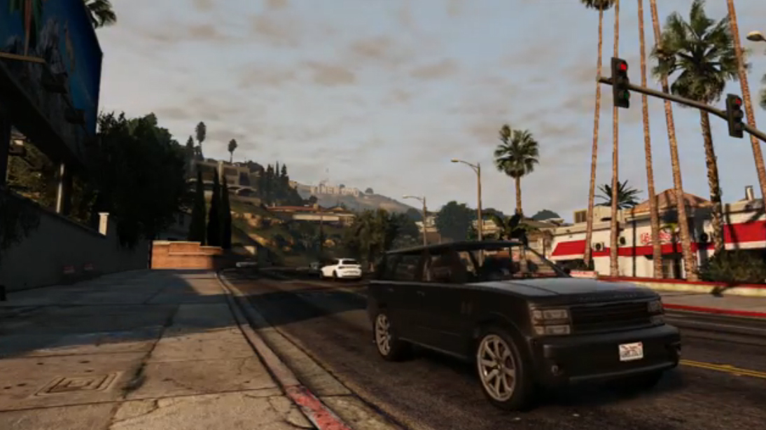 Beautiful Time Lapse Filmed in GTA V