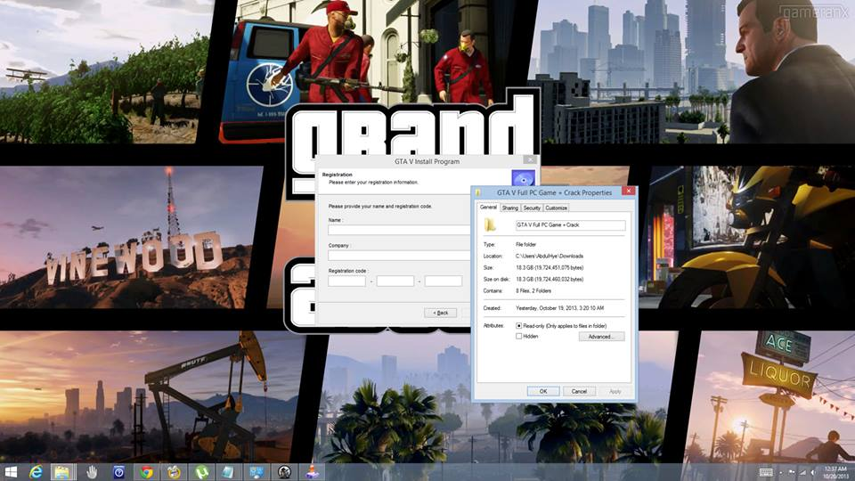 Thousands Of Idiots Download a Fake GTA V PC Installer