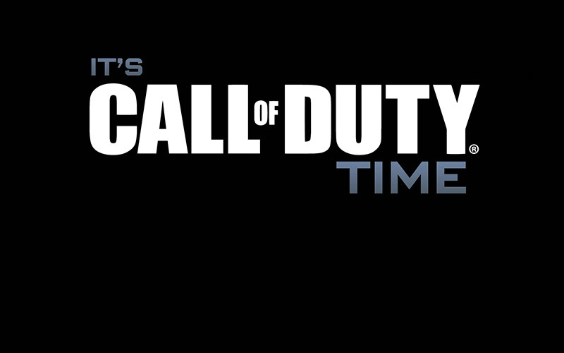 It's Call of Duty Time [INFOGRAPHIC]