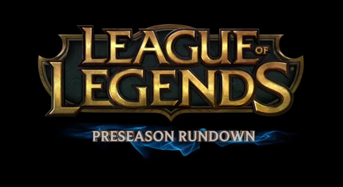 League of Legends Preseason Rundown