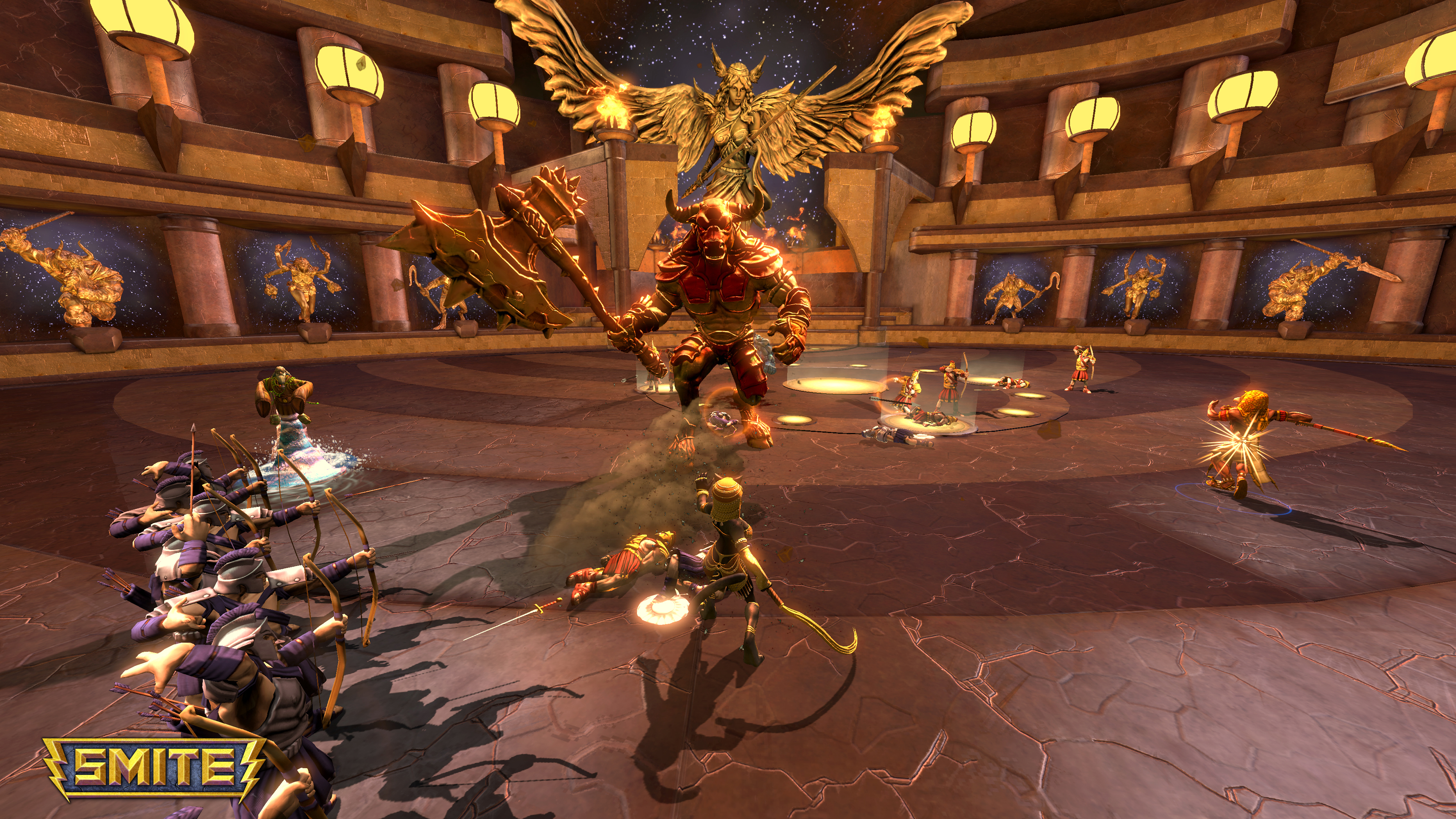 Smite Officially Launches On Xbox One