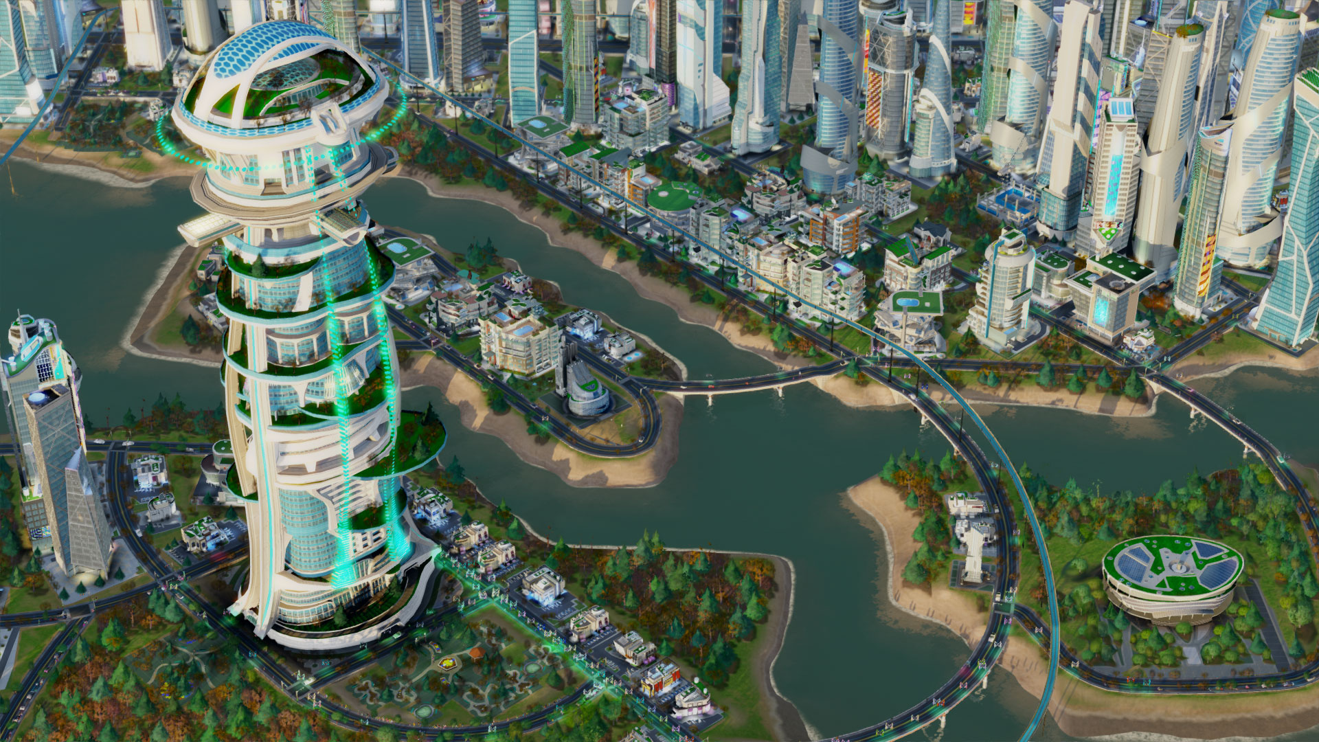 Simcity Cities of Tomorrow Expansion Pack Available Now