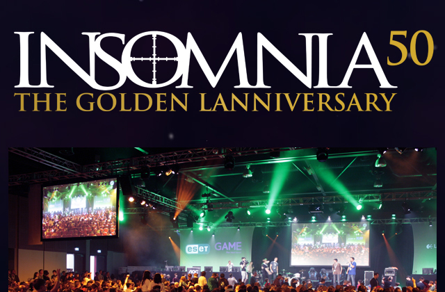 Insomnia50 The Golden Lanniversary [INFOGRAPHIC]