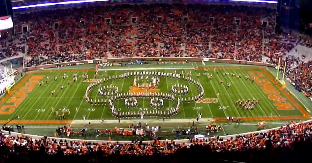 Clemson Marching Band Pays Epic Tribute to Nintendo