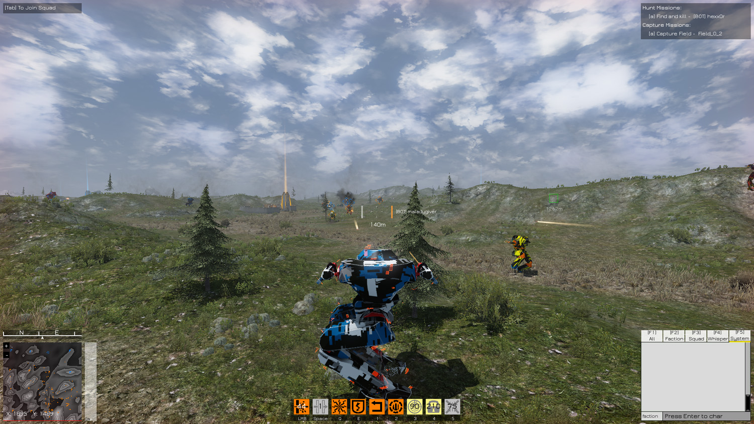 Thermal Erosion officially launches Fields of War, a new Mech action MMO
