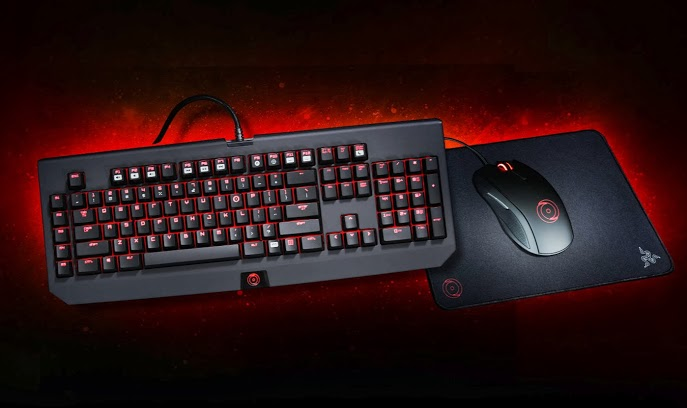 Exclusive ORIGIN PC Edition BlackWidow Keyboard, Taipan Mouse and Goliathus Mouse Mat Powered by Razer Available Now