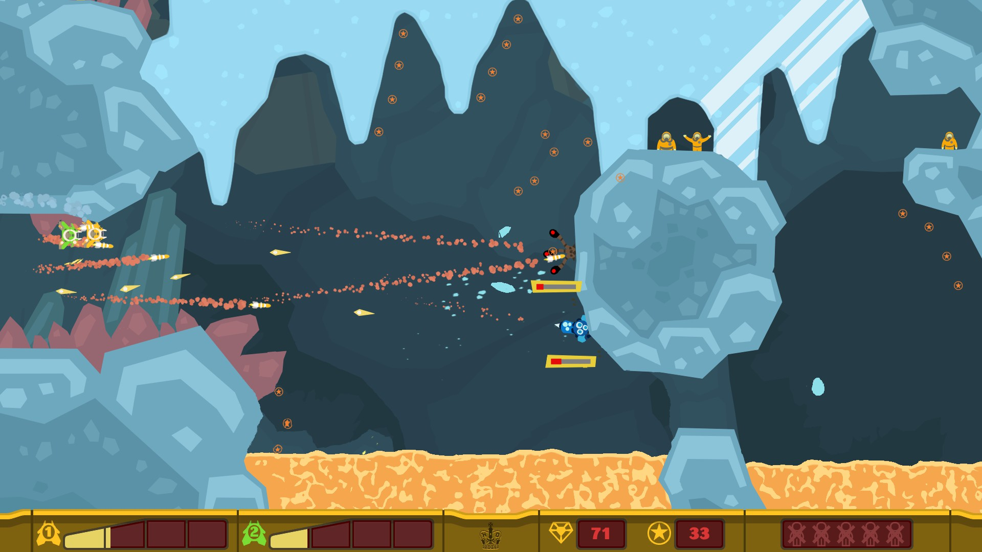 PixelJunk Shooter is now available on PC, MAC and Linux