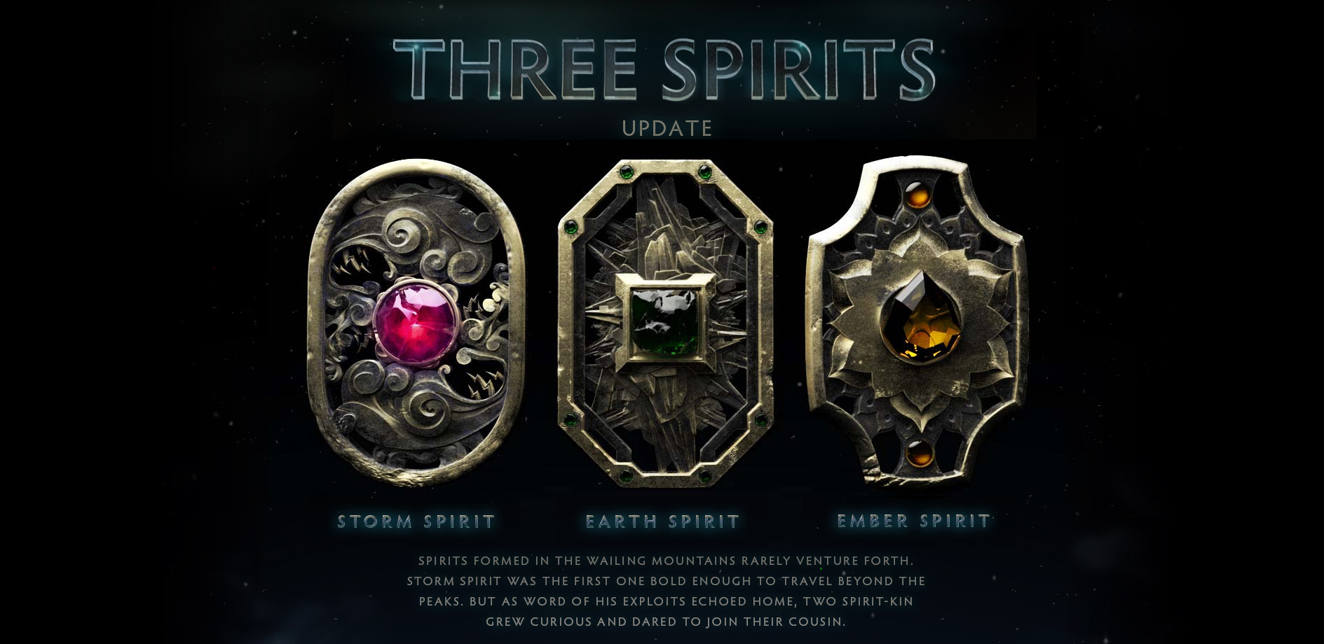 the three spirits update