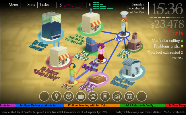 Business simulation game, Venture Tales focuses on real world change