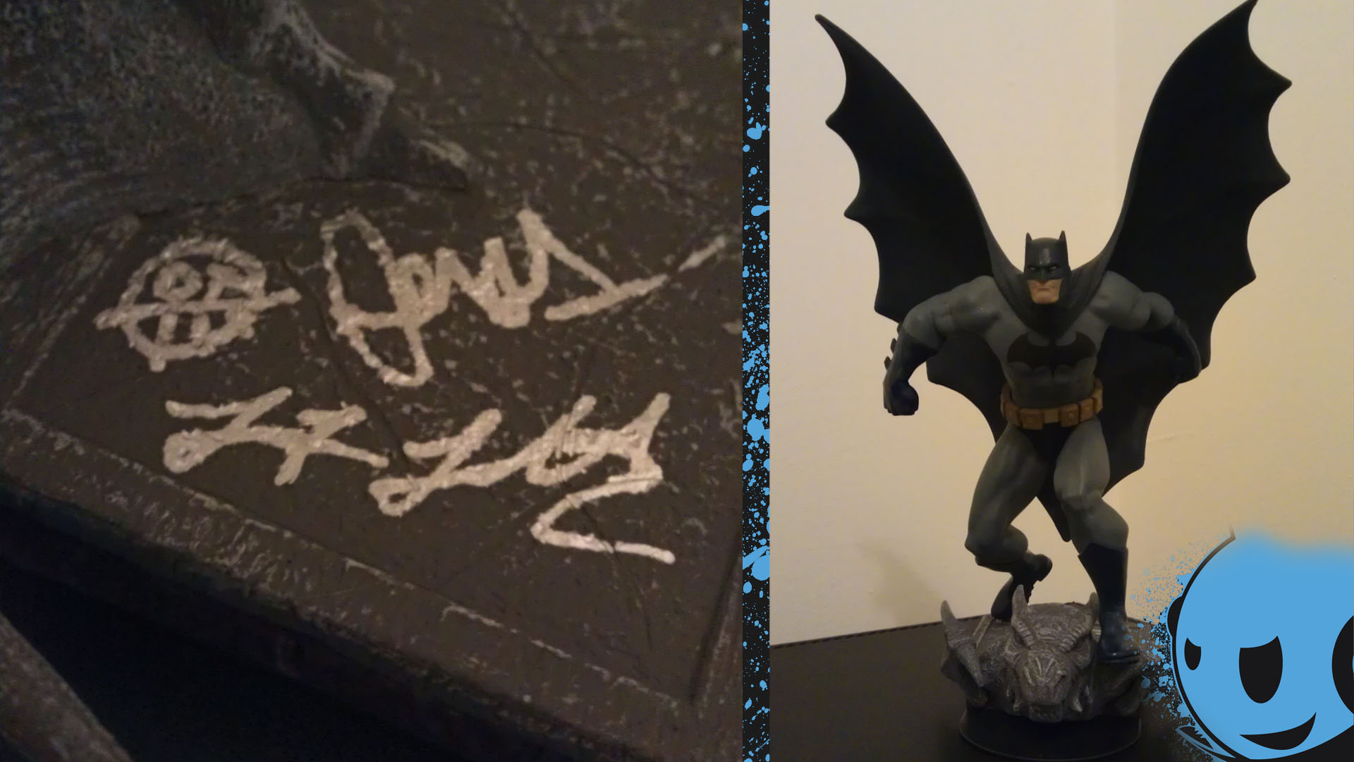 Signed Batman Figurine Giveaway by Animate
