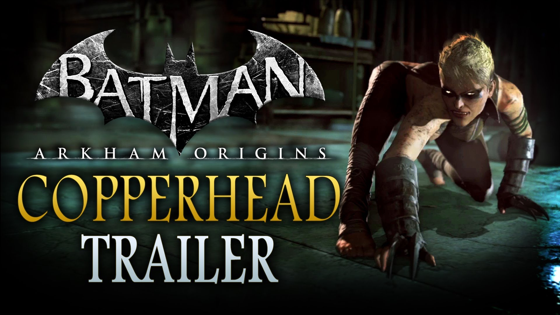 Batman: Arkham Origins – The making of Copperhead video
