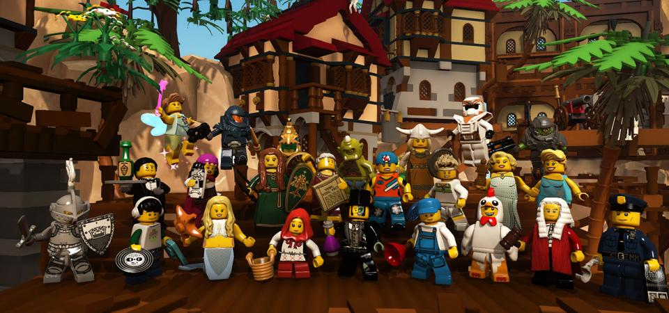 Take a Grand Tour of LEGO Minifigures Online