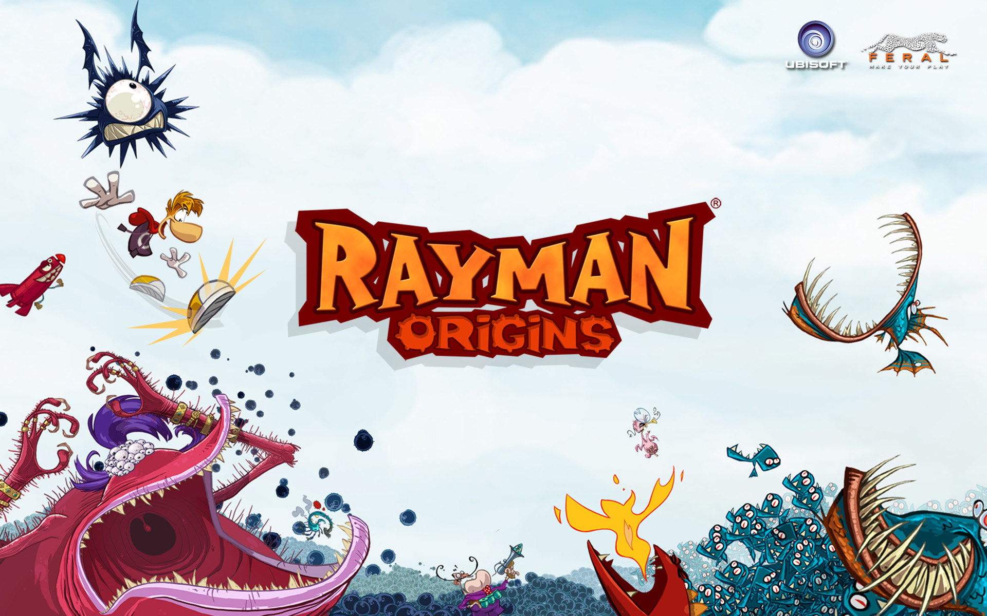 The Limbless Legend Returns to the Mac on December 12th in Rayman Origins