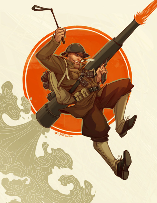 TF2 1980s Style Soldier