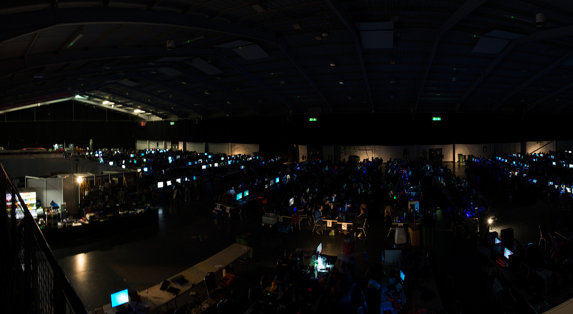 Interactive Visualisation of every UK LAN Party