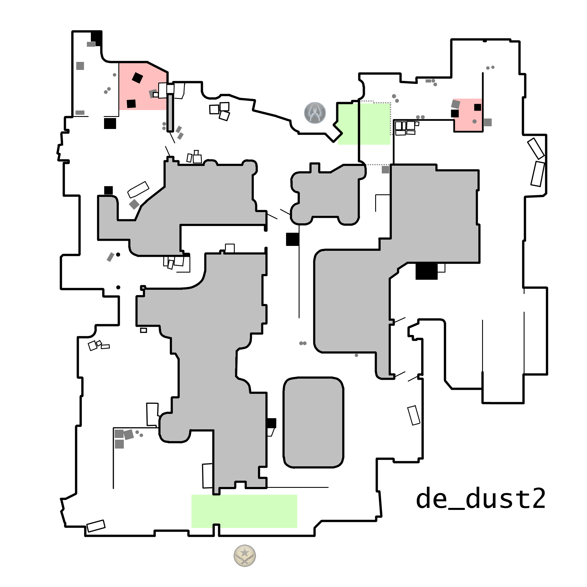 Here is a gallery of printable Counter Strike  Global Offensive maps