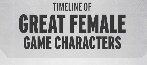 A Timeline of Great Female Game Characters [INFOGRAPHIC]