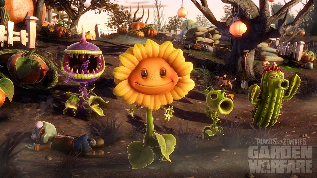 Plants Vs. Zombies Garden Warfare Gets Even More Hilarious With Free DLC In Garden Variety Pack