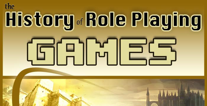The History of Role-playing Games [INFOGRAPHIC]