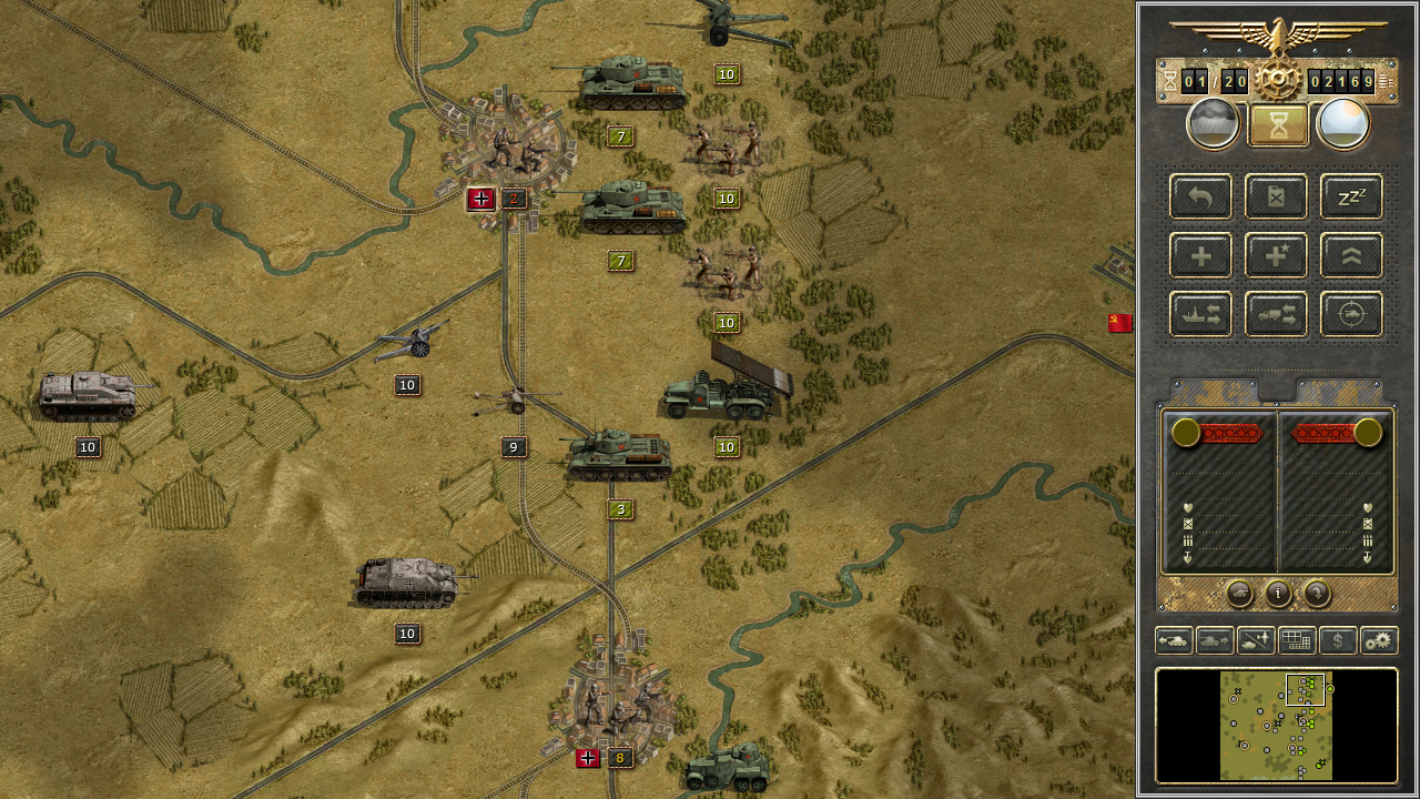 Turn Based Strategy Game Panzer Corps Comes to Steam
