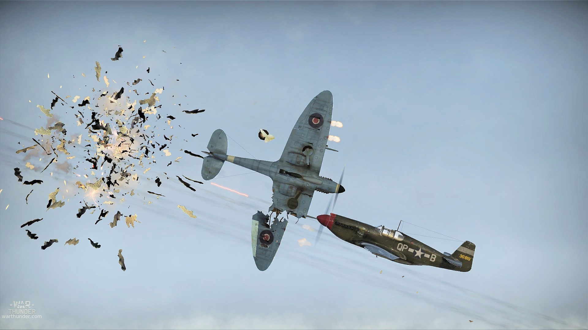The Epitome of a Close Call in War Thunder