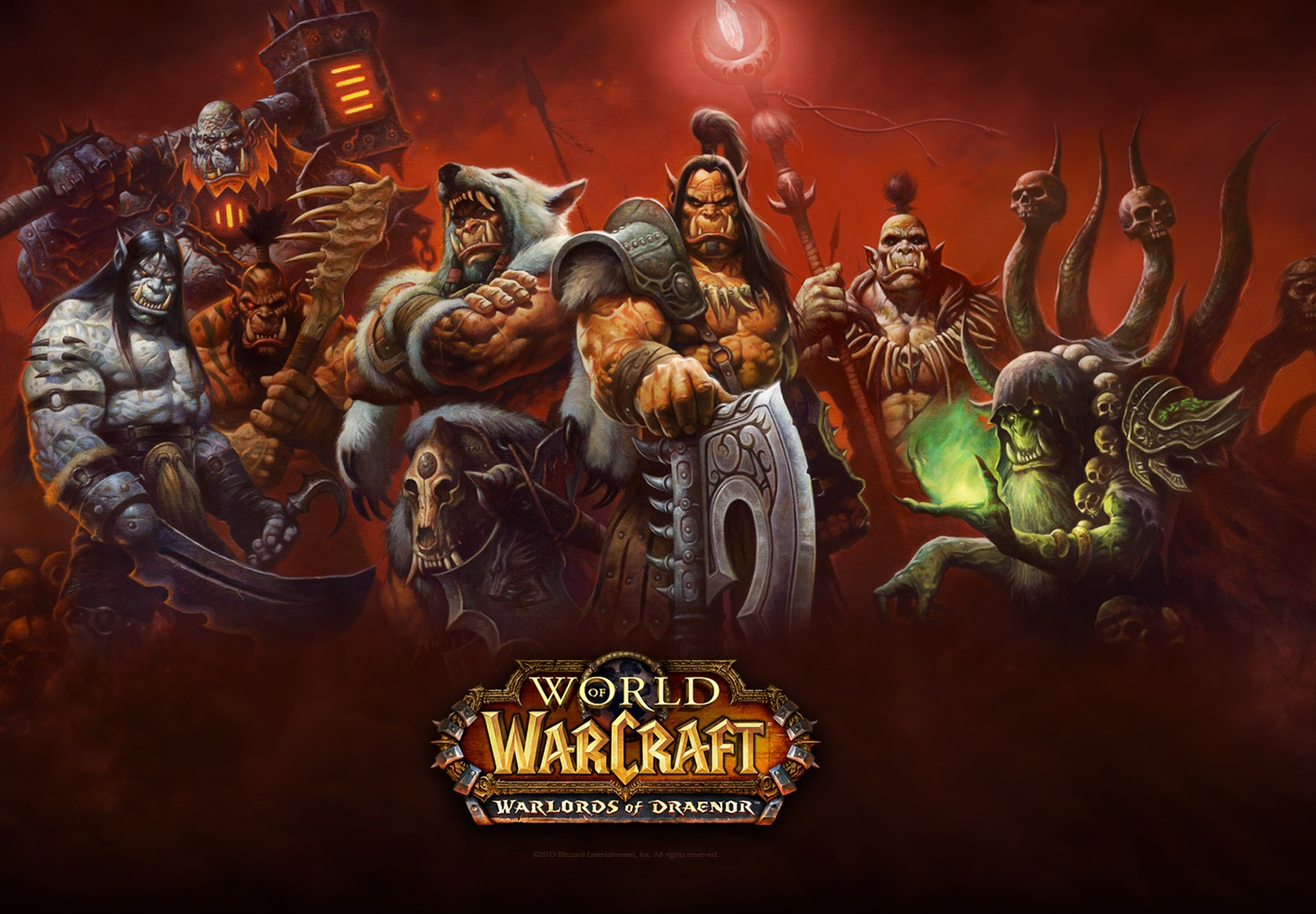 World of Warcraft Warlords of Draenor Pre-Purchase Now Available