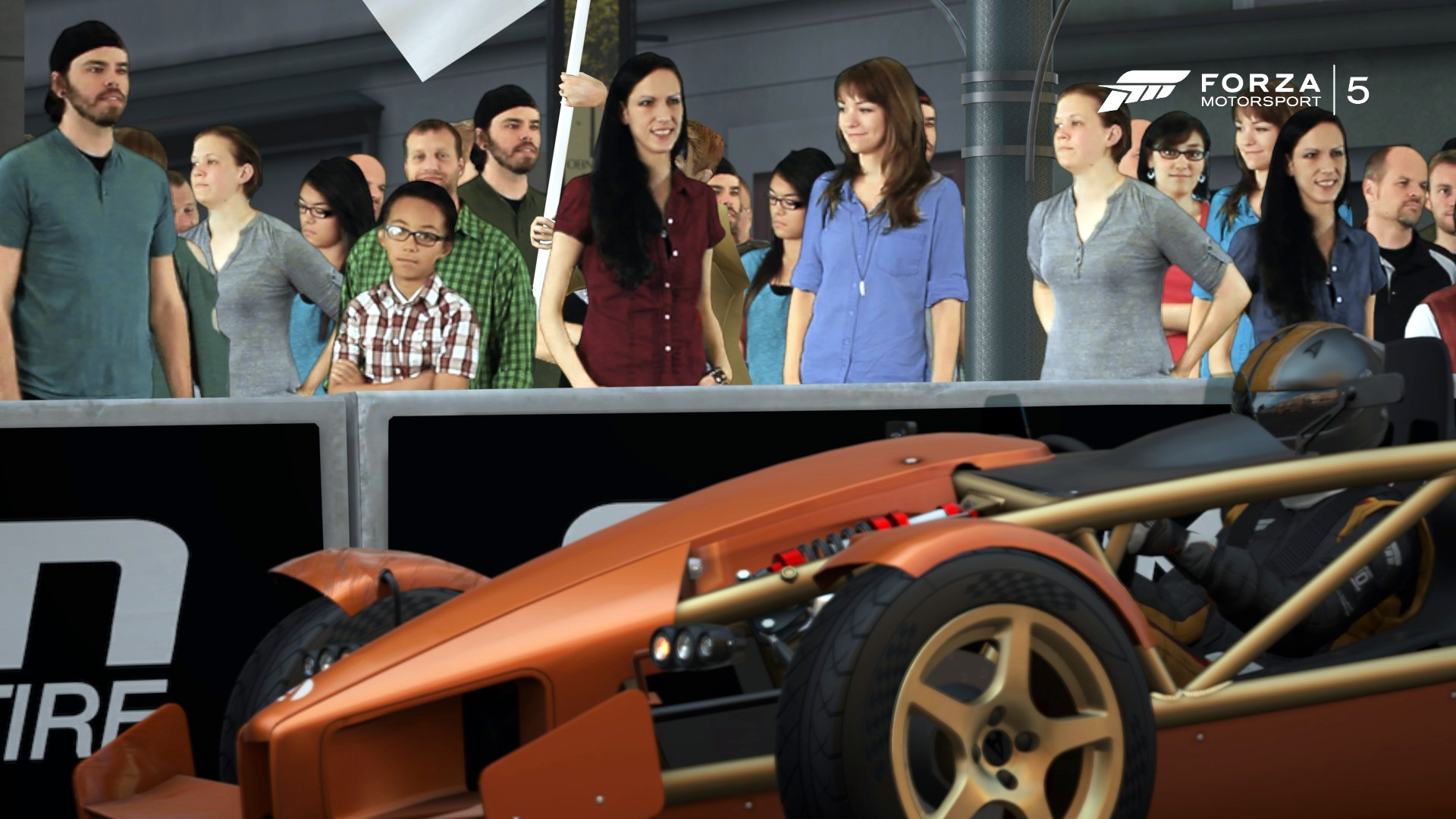 The People of Forza 5: A Study