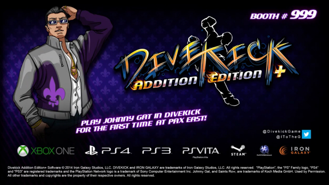 Johnny Gat from Saints Row joins cast of Divekick