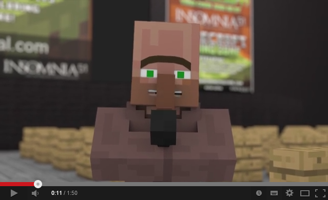 Official Trailer for Insomnia51 Minecraft Zone Released