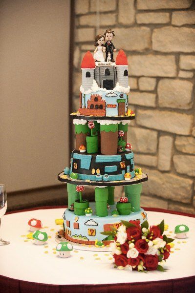 mario bros wedding cake 11 beautiful themed wedding cakes bc gb 17142
