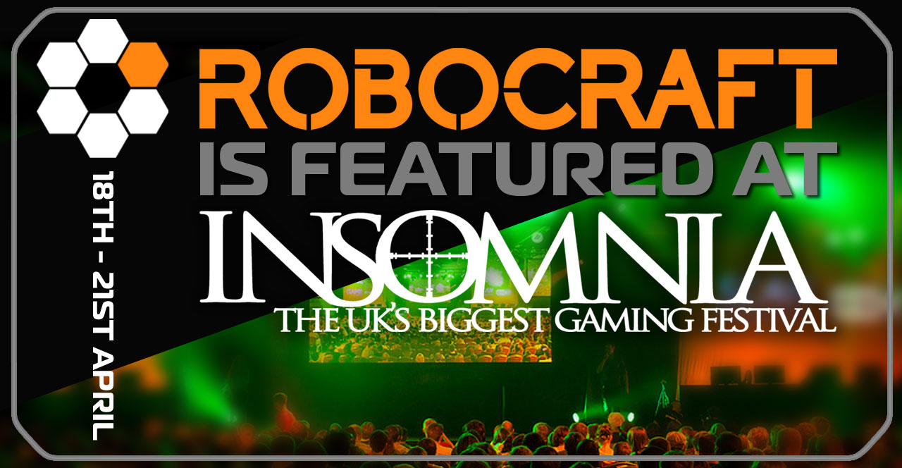New UK Indie Freejam Games Unveil Robocraft at Insomnia 51